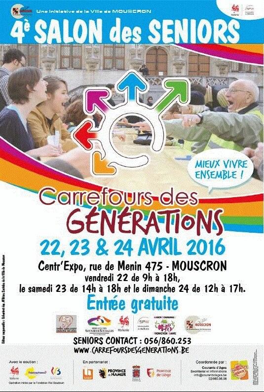 Salon des s niors commerces de mouscron for Salon des ecoles de commerce