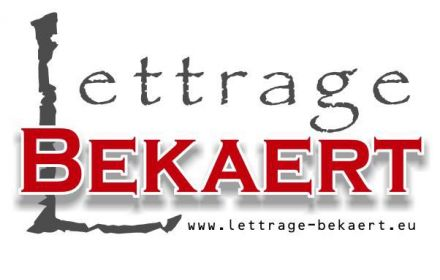 Illustration de Lettrage Bekaert